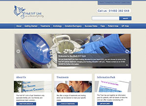 Hull IVF unit LIVES website