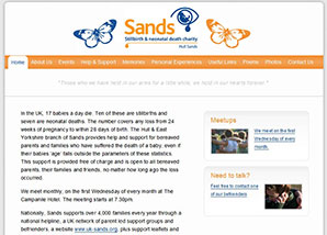 Hull Sands Website
